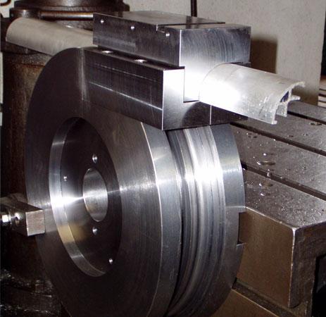 Matrice di curvatura profilo in alluminio