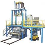Impianto di stampaggio per particolari in alluminio struttura elettrosaldata
