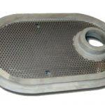 Filtro inox gomma per elettrodomestici